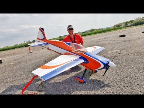 FREESTYLE MASTERS UK RC - ANDY RIGBY FLYING HIS AJ ARS 87