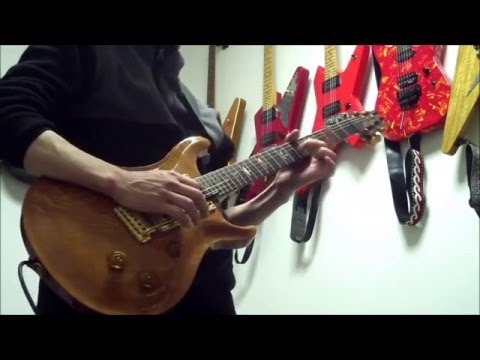 Gary Moore Guitar Cover / Afetr The War