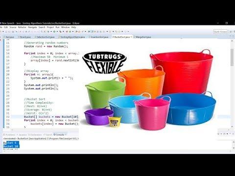Bucket Sort Tutorial Java (Harder Algorithm)