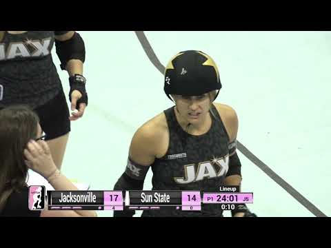 2018 International WFTDA Playoffs Atlanta Game 7: Jacksonville Roller Derby V Sun State Roller Derby