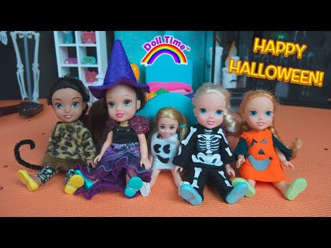 Halloween Costumes! Elsa Anna Toddlers Halloween Party Chelsea – Miraculous Ladybug Pumpkins Ghosts