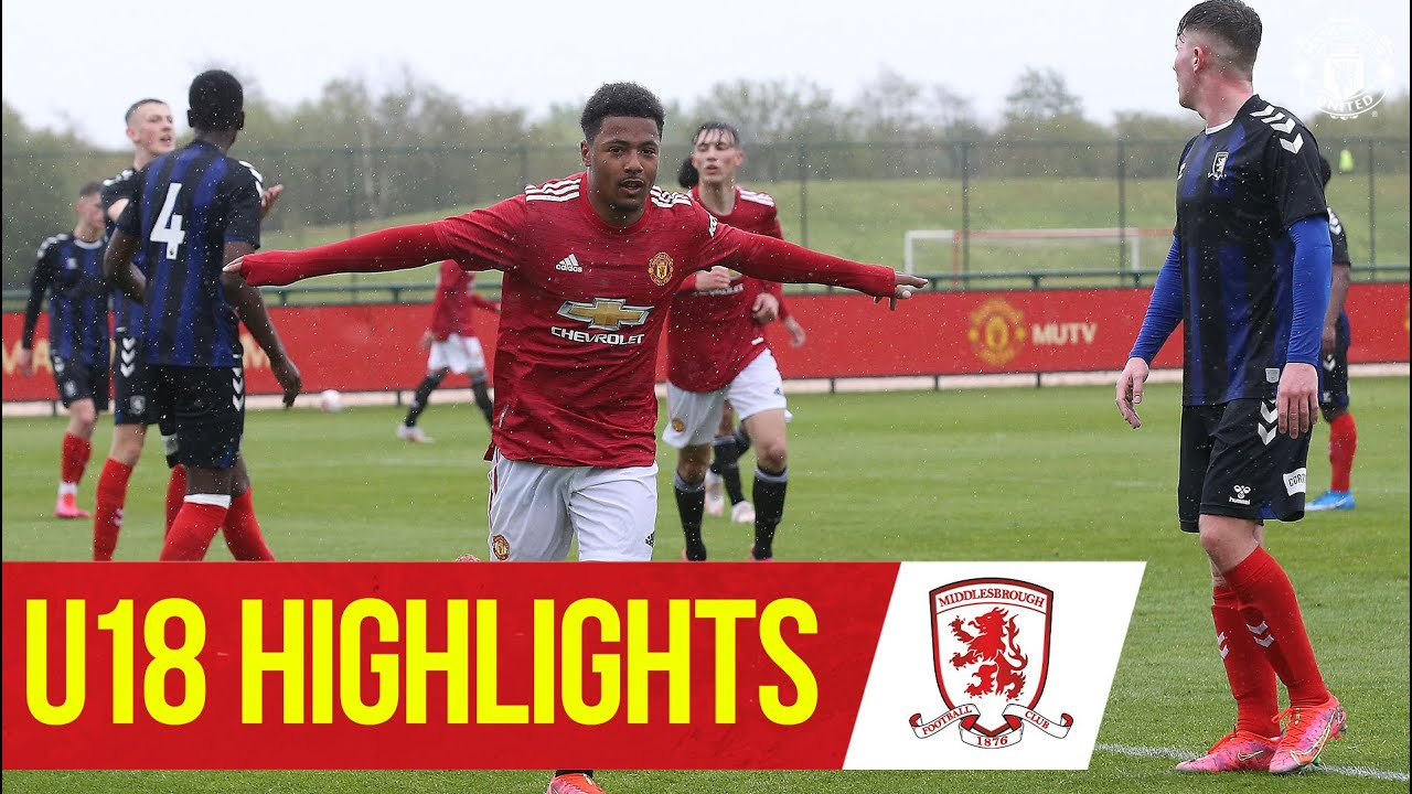 Download U18 Highlights | United 8-1 Middlesbrough | The Academy | Manchester United