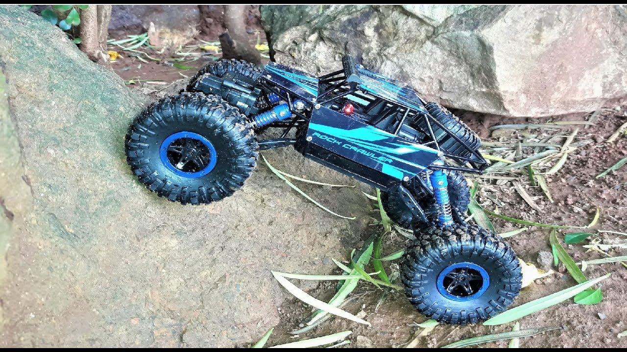remote control monster truck rc rock crawler 1 18 scale. Black Bedroom Furniture Sets. Home Design Ideas