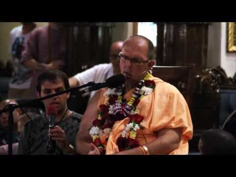 Lecture - Jayapataka Swami - Panihati and Initiation