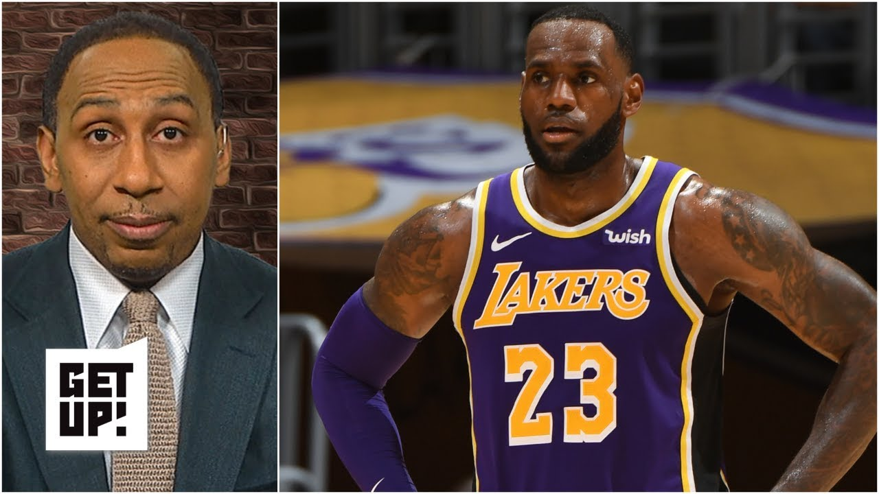 90875138386d Lakers fans not buying into LeBron James – Stephen A.