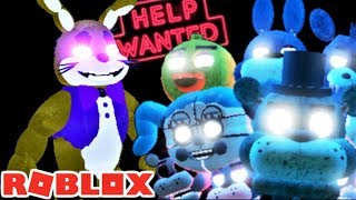 FNAF VR HELP WANTED IN ROBLOX   Roblox: Five Nights at Freddy's RP