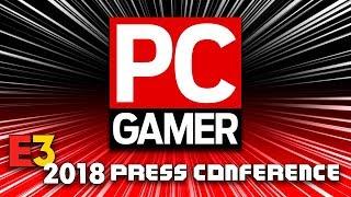FULL PC GAMER PRESS CONFERENCE [E3 2018] - LIVE REACTION w/runJDrun
