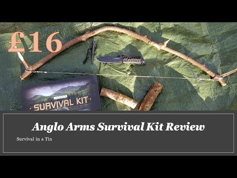 Anglo Arms Survival Kit Review and Test  (Survival In a Tin Episode 4)