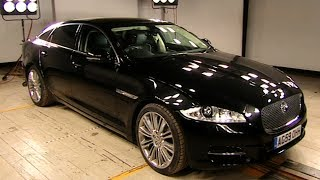 Jaguar XJ Review Fifth Gear смотреть