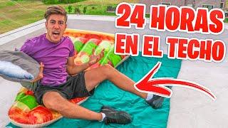 24 HORAS EN EL TECHO DE MI CASA !!!