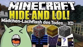 MÄDCHEN LACHFLASH! mit GLP, Zombey & Taddl - Minecraft Hide and Seek! | ungespielt