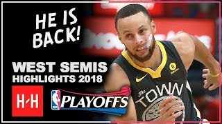 Stephen Curry Full Series Highlights vs New Orleans Pelicans 2018 Playoffs WSCF - Injury RETURN!
