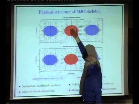 Climate Science, Waves, and PDE's for the Tropics ( 1 ) - Andrew J. Majda