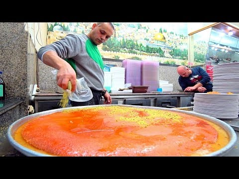 Jerusalem's BEST Street Food Guide - PALESTINIAN HUMMUS NINJA + HUGE Old Jerusalem Street Food Tour!