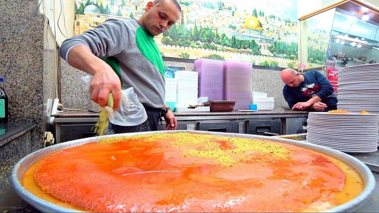 Jerusalem's BEST Street Food Guide - PALESTINIAN HUMMUS NINJA + HUGE Old Jerusalem Street Food