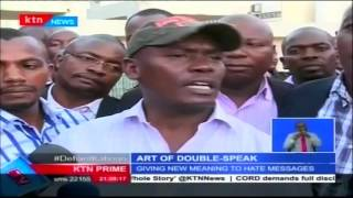Political double speak: George Aladwa expected  in court on Friday over incitement to violence