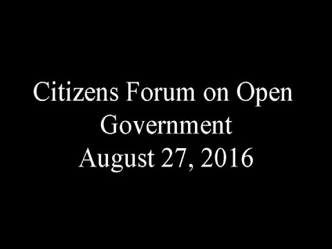 Citizens Forum #1