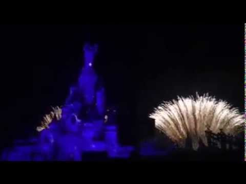 Feu d'Artifice de la Saint-David (2015) - Disneyland Paris