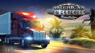 American Truck Simulator/ Новая игра ,новые приключения . Обзор геймплея игры. Игра с голосом
