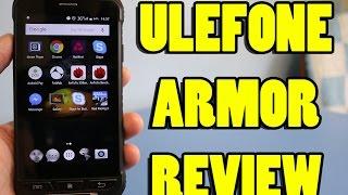 Ulefone Armor Review 4G Smartphone | Waterproof & Shockproof