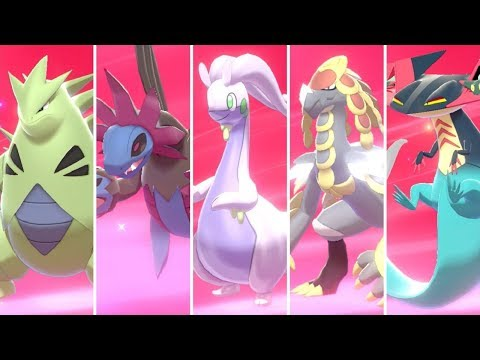 Pokemon Sword and Shield - All Pseudo-Legendary Pokemon Locations