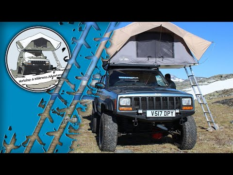 Living in a Jeep Cherokee XJ - Traveling Norway (Part 4)