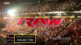 2012  WWE Raw Theme Song  Tonight