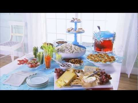 Party Food Ideas How To Decorate A Buffet YouTube