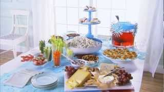 Party Food Ideas - How To Decorate A Buffet