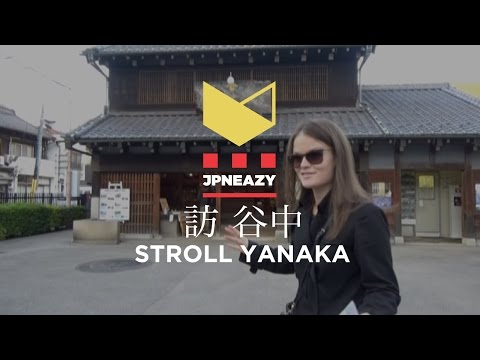 UENO to YANAKA :Strolling Traditional streets