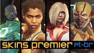 Injustice 2 Todas as skins premier [PT-BR]