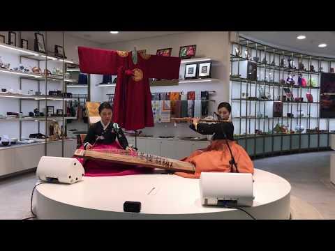 Korean  Music Performance 🎼 韓國傳統音樂現場表演