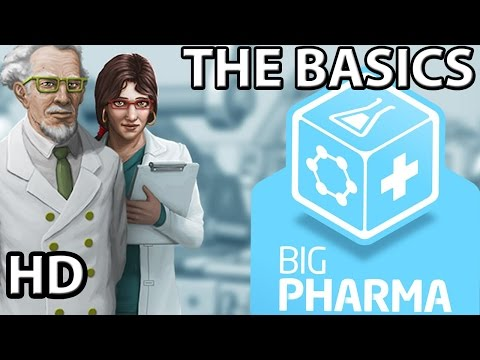 Big Pharma || The Basics || Pharmaceutical Manufacturing Sim