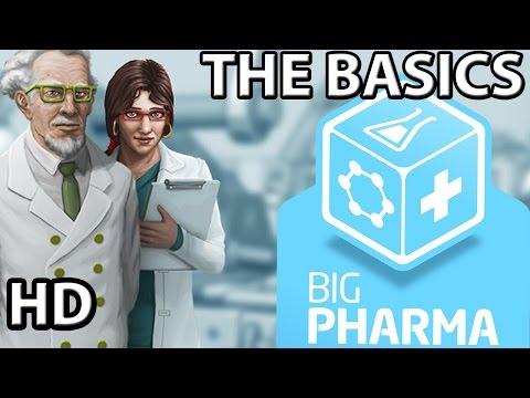 Big Pharma || The Basics || Pharmaceutical Manufacturing Simulator || Part 1