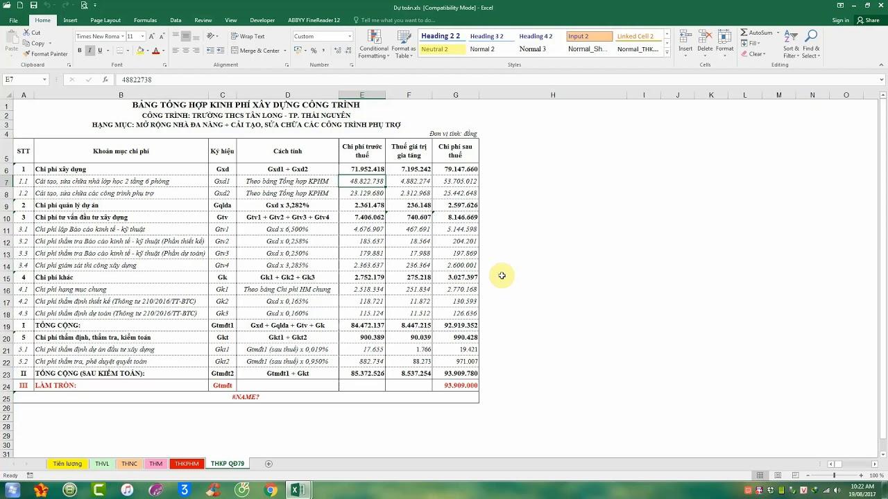 Cách Copy 1 hoặc nhiều Sheet của file Excel này sang 1 file Excel khác
