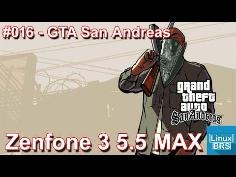 Gameplay Android - GTA San Andreas - Asus Zenfone 3 Max 5.5 pol