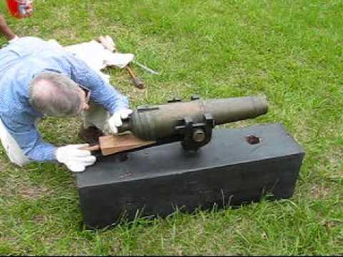 HMS Surprise exercises her guns.mpg | Doovi