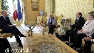 9.9.2013 - QUIRICO LIBERATO. RICEVUTO A PALAZZO CHIGI DA LETTA, BONINO E ALFANO