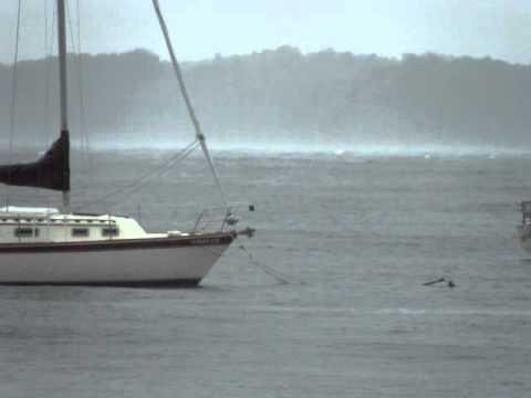 Hurricane Irene on Lake Champlain.MPG