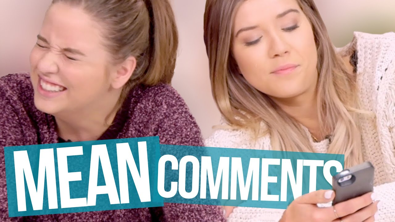 Reading Mean Comments Beauty Break Youtube