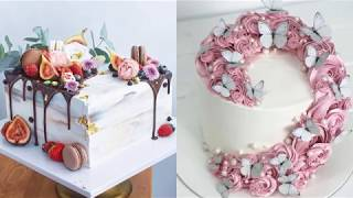 Awesome Cake Decorating Ideas for Party  Easy Chocolate Cake Recipes  Perfect Cake Decorating #52