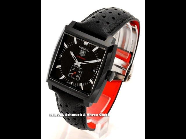 TAG Heuer Monaco Calibre 6 Full Black  Ref. WW2119.FC6338  (7785)
