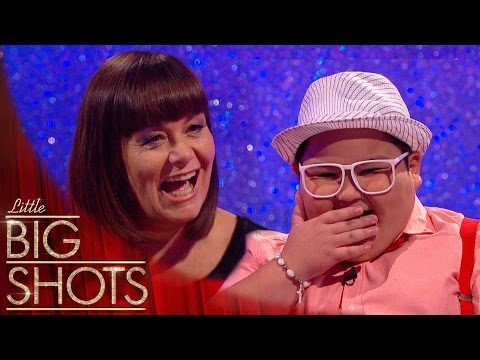 YouTube Sensation Balang Has Dawn In A Fit Of Giggles  Little Big Shots