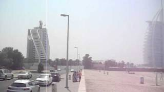 Burj Al Arab Hotel from Jumeriah Public Beach