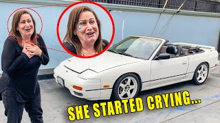 SURPRISING MOM WITH REBUILT CAR *emotional*