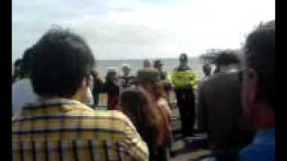 Keith Taylor speech at Stop The War protest, Brighton