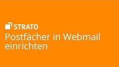 Postfächer in Webmail einrichten | STRATO Tutorial
