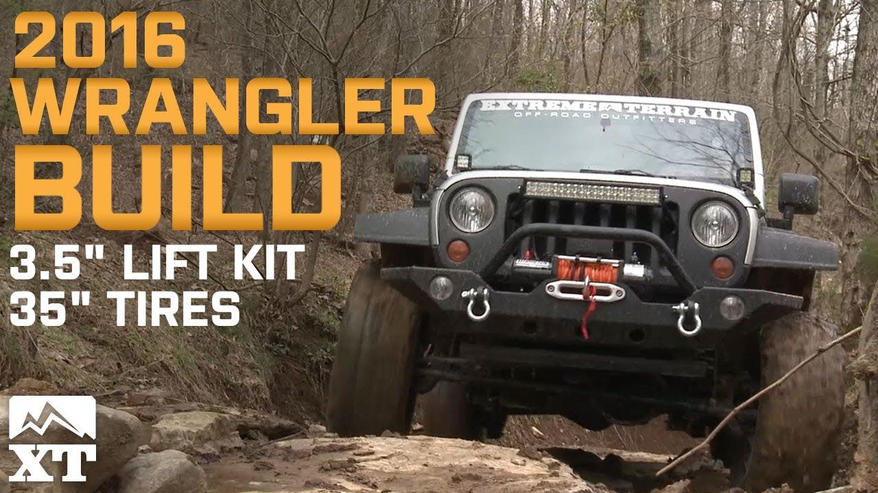 Jeep Wrangler 2007 2017 Jk Overhaul 35 Quot Mt Tires