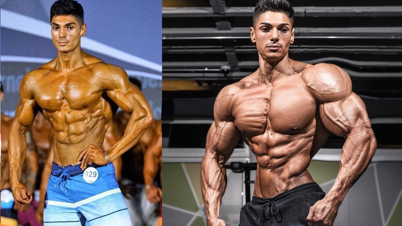 Andrei Deiu 1 year body Transformation 20 - 21