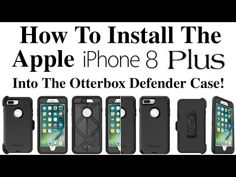 iphone-8/8-plus---how-to-install-the-iphone-8/8-plus-into-the-otterbox-defender-case!